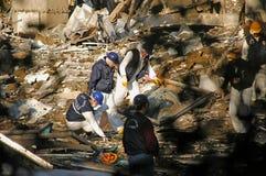 2003颗炸弹伊斯坦布尔过帐场面 免版税库存图片
