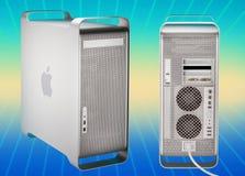 2003 2006年Apple计算机g5橡皮防水布次幂 库存照片