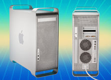 2003 2006 macström för Apple-dator g5 Arkivfoton