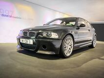 Free 2003 BMW M3 CSL In The BMW Royalty Free Stock Photography - 171541447