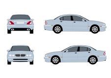 2004年捷豹汽车类型x 向量例证