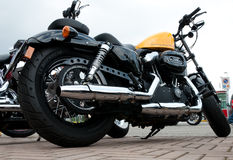 2005 budowali Harley Davidson XL 1200X Sportster Fotografia Stock