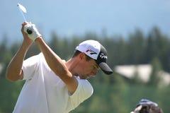 2006年crans打高尔夫球lucquin重要资料蒙大拿 库存图片