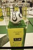 2006年FIFA世界杯的球在德国 免版税库存照片