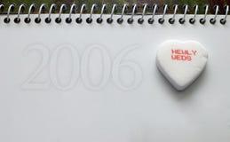 2006 ślub zdjęcie royalty free