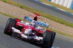 2006 более olivier panis f1 объениняются в команду Тойота Стоковые Изображения