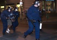 2006 демонстраций Венгрия политическая Стоковые Изображения