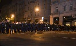 2006 демонстраций Венгрия политическая Стоковые Изображения RF