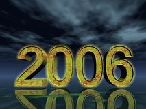 2006. Year 2006 Stock Illustration