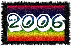 2006. New Year banner Stock Illustration