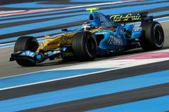 2006 Alonso f1 Fernando Renault Στοκ Φωτογραφίες