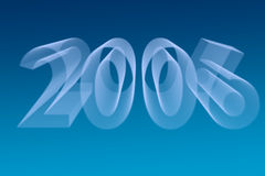 2006 background. 2006 new year eve background blue Stock Image