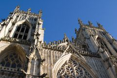 2006 december minster york Arkivfoton