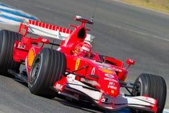 2006 f1 ferrari迈克尔schumacher scuderia 库存图片