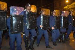 2006 Hungary politycznych demonstracji Zdjęcie Stock