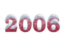 2006 lat śnieżnych royalty ilustracja