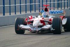 2006 mer olivier panis f1 team toyota Arkivbilder
