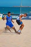 2006 spanjor för strandmästerskapfotboll Royaltyfri Fotografi