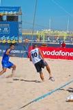 2006 spanjor för strandmästerskapfotboll Royaltyfria Bilder