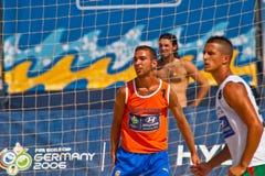 2006 spanjor för strandmästerskapfotboll Fotografering för Bildbyråer