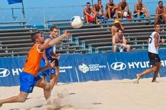 2006 spanjor för strandmästerskapfotboll Royaltyfri Bild