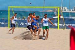 2006 spanjor för strandmästerskapfotboll Royaltyfri Foto