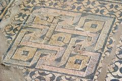 2006 Września kefalonia skali rzymska willa Zdjęcie Stock