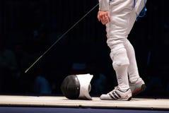 2006年操刀vezzali世界的冠军 库存图片