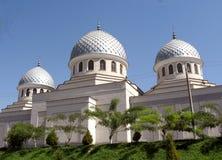 2007个圆屋顶juma清真寺塔什干三 免版税库存图片