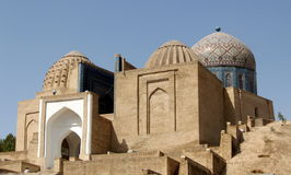 2007个陵墓撒马而罕shakhi zindah 免版税库存图片