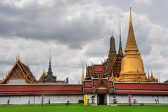2007威严的曼谷寺庙 图库摄影