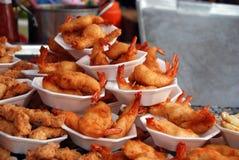 2007威严的曼谷鱼市泰国 库存照片