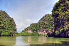 2007威严的海湾泰国 图库摄影