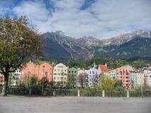 2007年奥地利因斯布鲁克9月 免版税库存照片