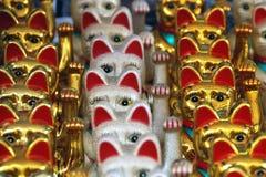 2007年护身符威严的猫新加坡 库存照片