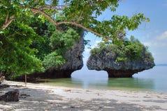 2007年泰国的海岛 免版税库存照片