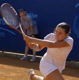 2007年anastasija拉特银币sevastova网球巡回赛wta 图库摄影