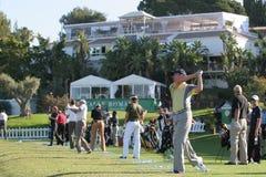 2007年andalucia de开放的golf 库存照片