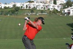2007年andalucia de golf开放的希门尼斯 库存图片
