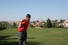 2007年andalucia de golf开放的希门尼斯 图库摄影