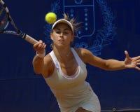 2007年chieppa ita stefania网球巡回赛wta 免版税库存照片