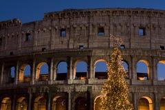 2007年colosseo natale罗马 免版税库存图片
