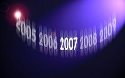 2007空间 免版税库存照片
