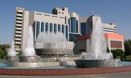 2007年塔什干yunusabad 库存照片