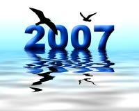 An 2007 photographie stock libre de droits