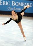 2007 2008年埃琳娜glebova短小 免版税库存照片