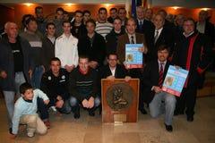 2007-2008 van de het rugbykampioen van Frankrijk Stock Foto's