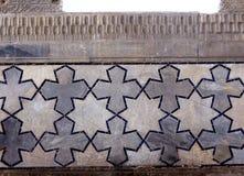 2007 bibi szczegółu khanim ornament Samarkand obrazy stock