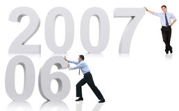 2007 business prospects Royalty Free Stock Photography