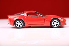 2007 chevrolet corvette c6 z06 side view stock image